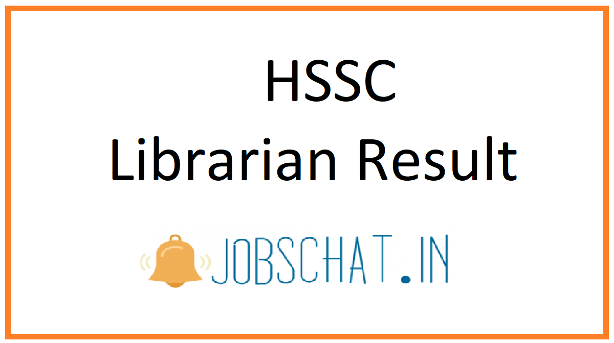 HSSC Librarian Result