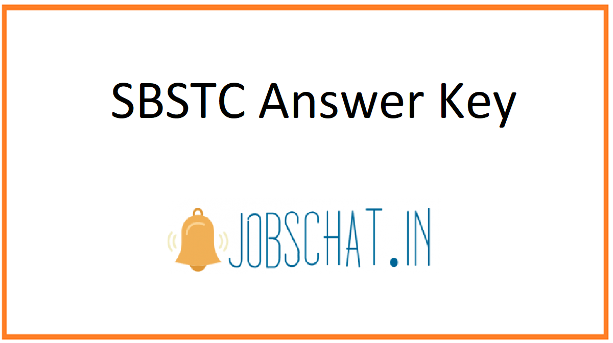 SBSTC Answer Key