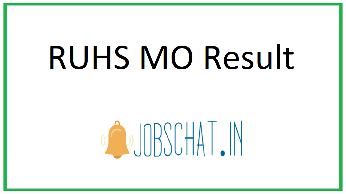 RUHS MO Result