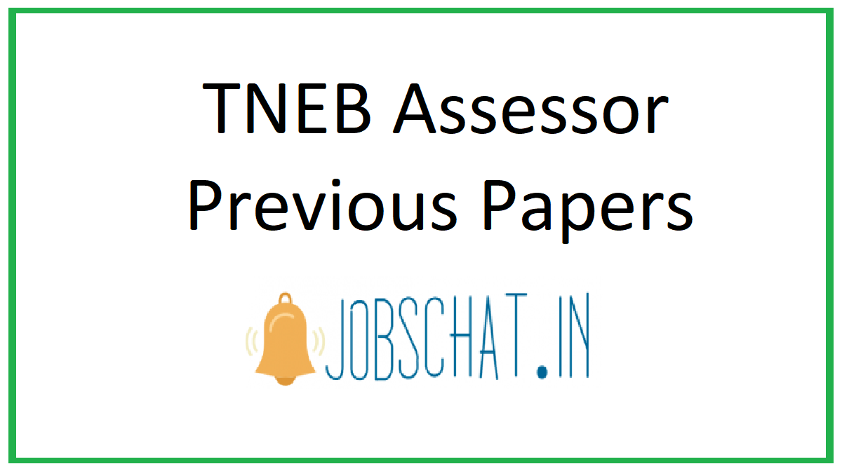 TNEB Assessor Previous Papers