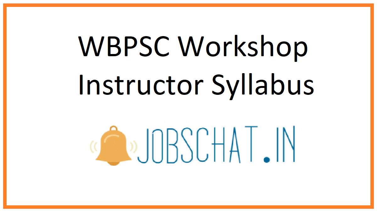 WBPSC Workshop Instructor Syllabus