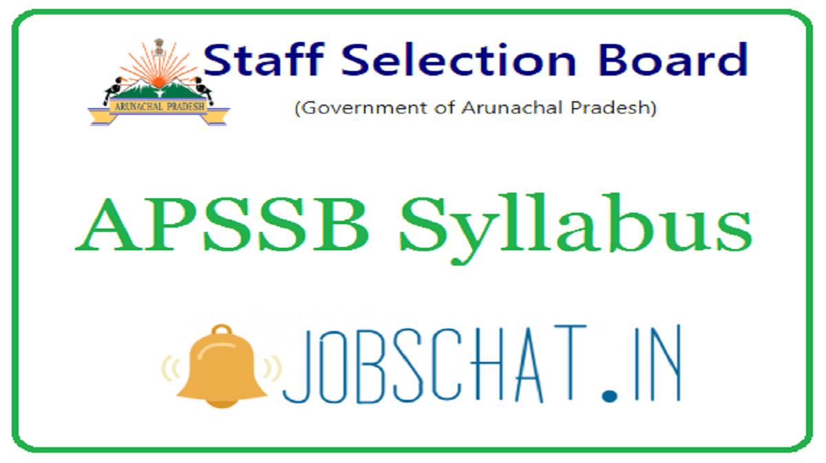 APSSB Syllabus