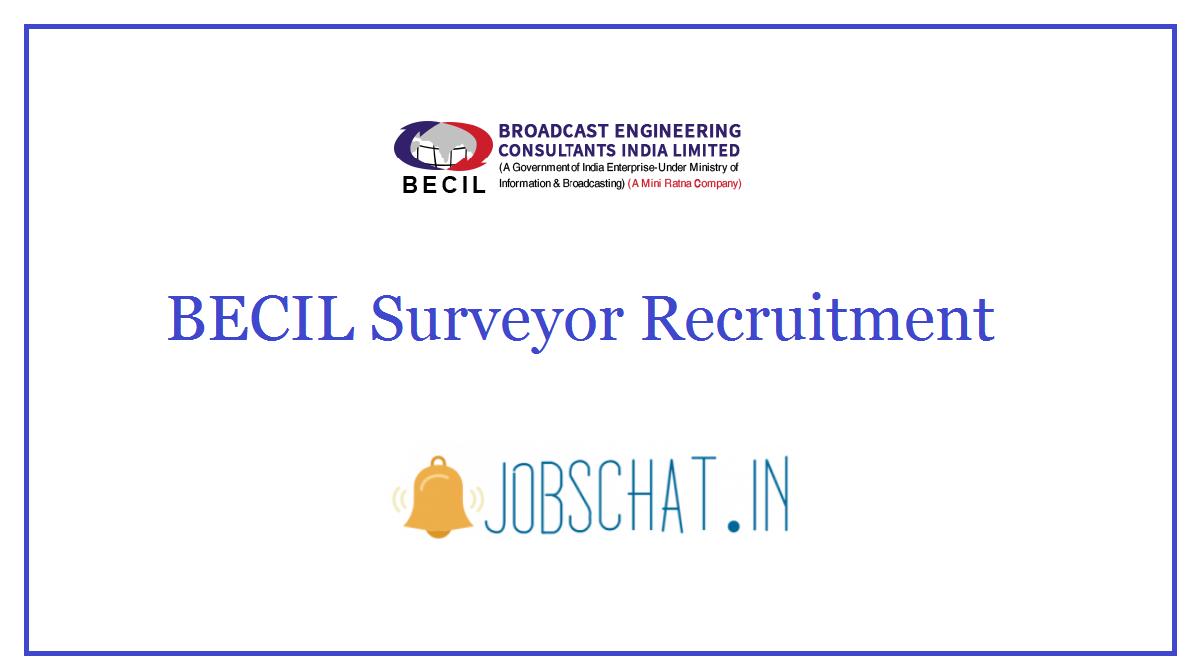 BECIL Surveyor Recruitment