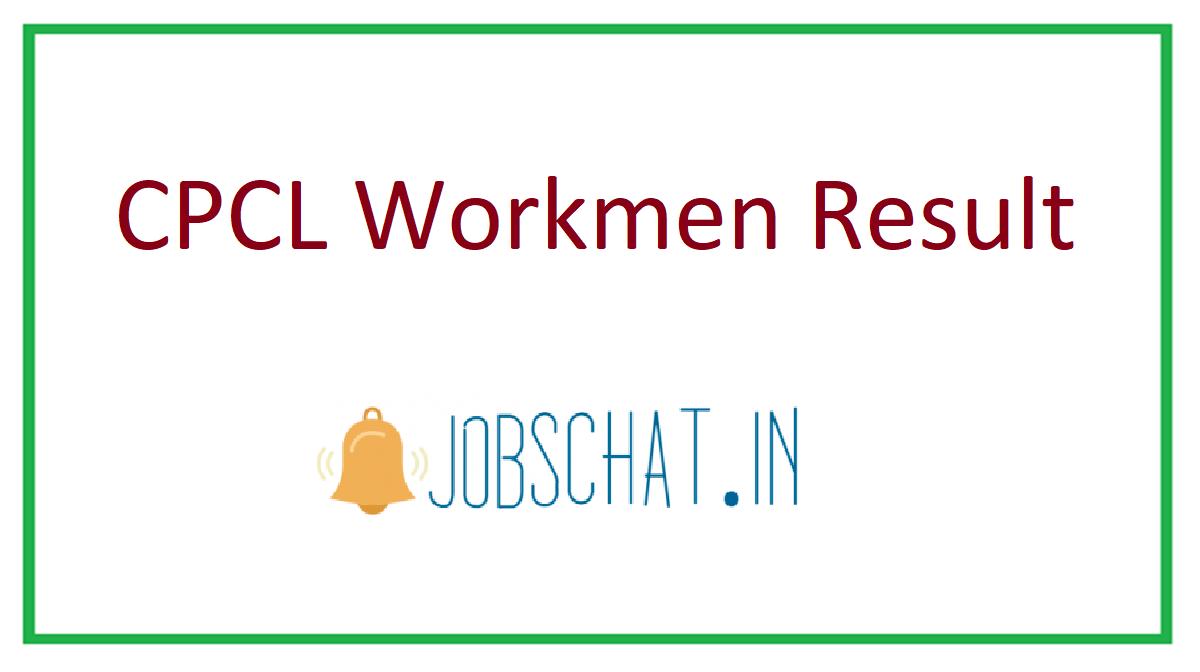 CPCL Workmen Result