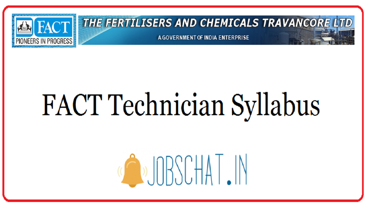FACT Technician Syllabus