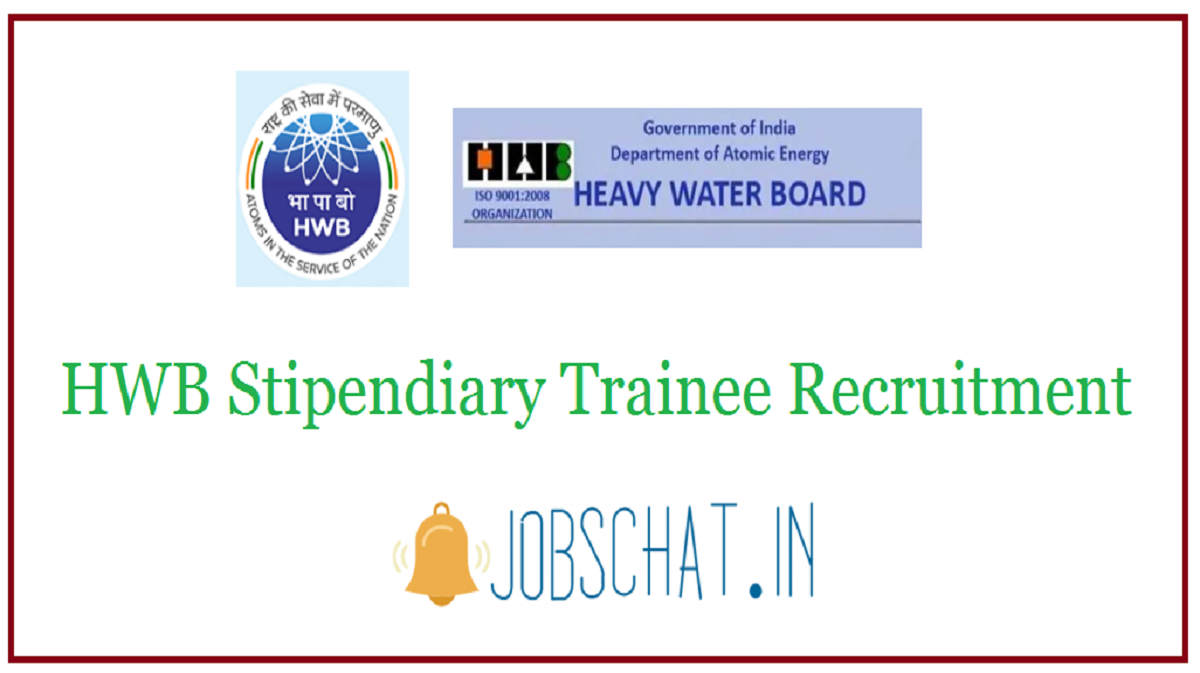 HWB Stipendiary Trainee Recruitment