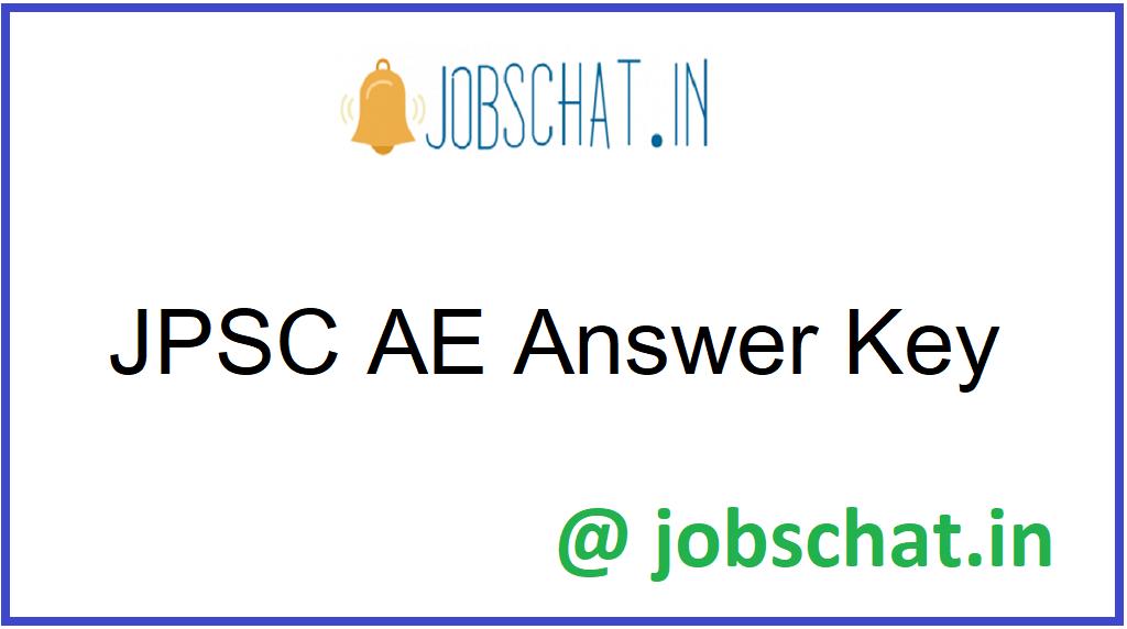 JPSC AE Answer Key