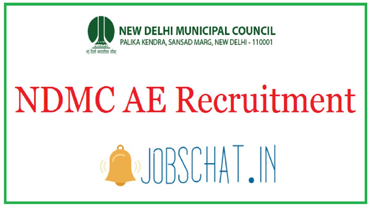 NDMC AE Recruitment