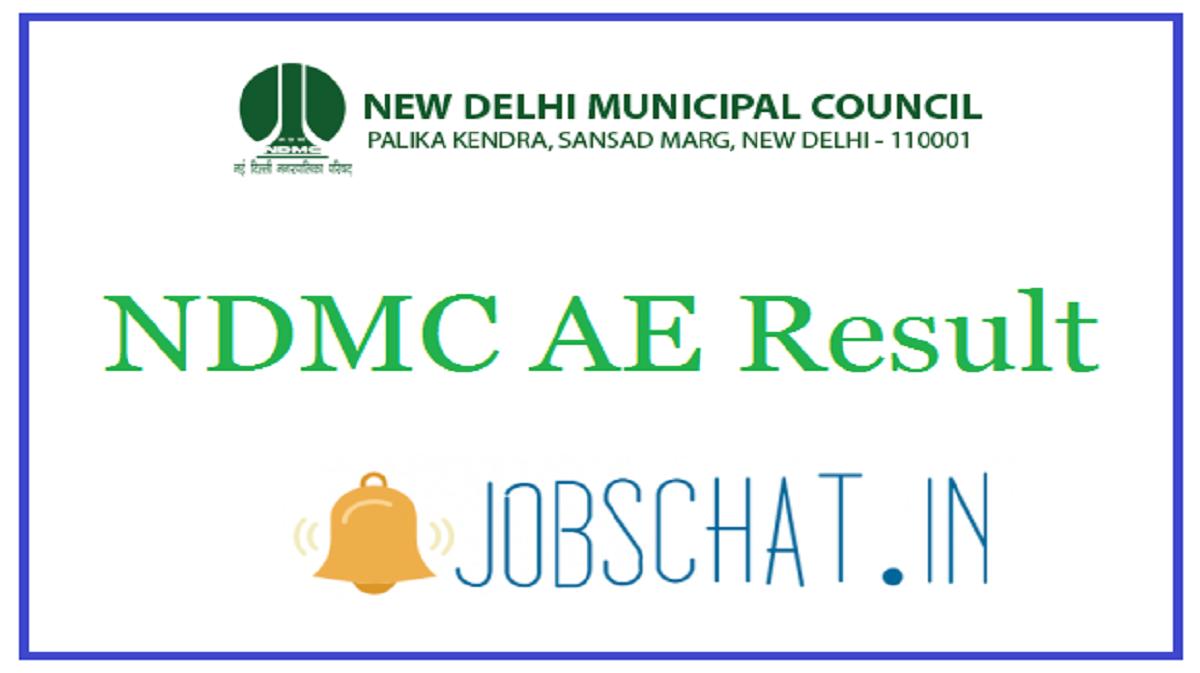 NDMC AE Result
