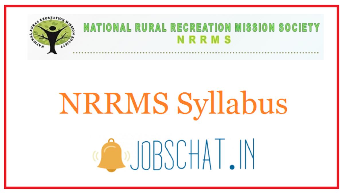 NRRMS Syllabus