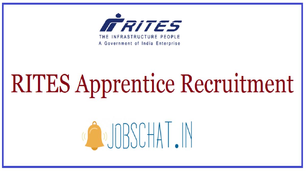 RITES Apprentice Recruitment