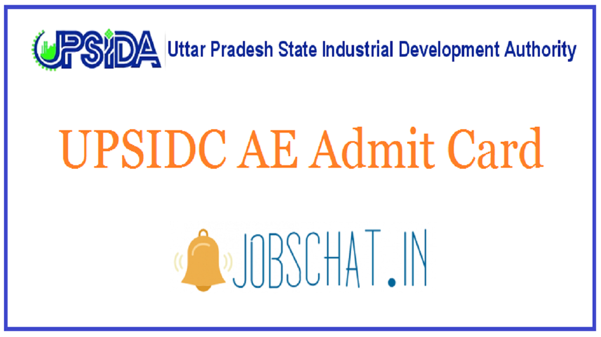 UPSIDC AE Admit Card