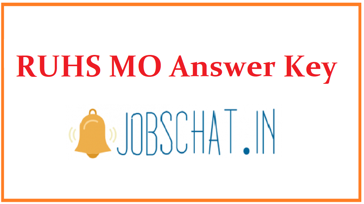RUHS MO Answer Key