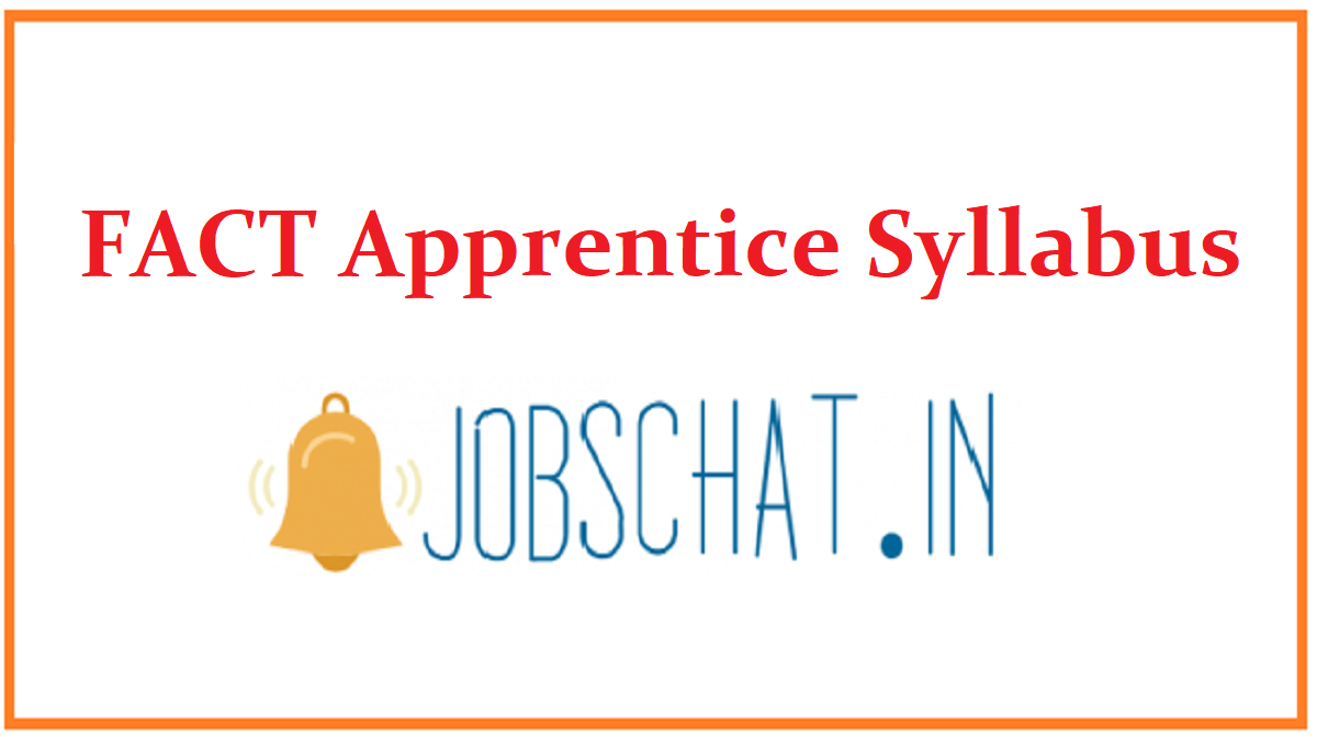 FACT Apprentice Syllabus