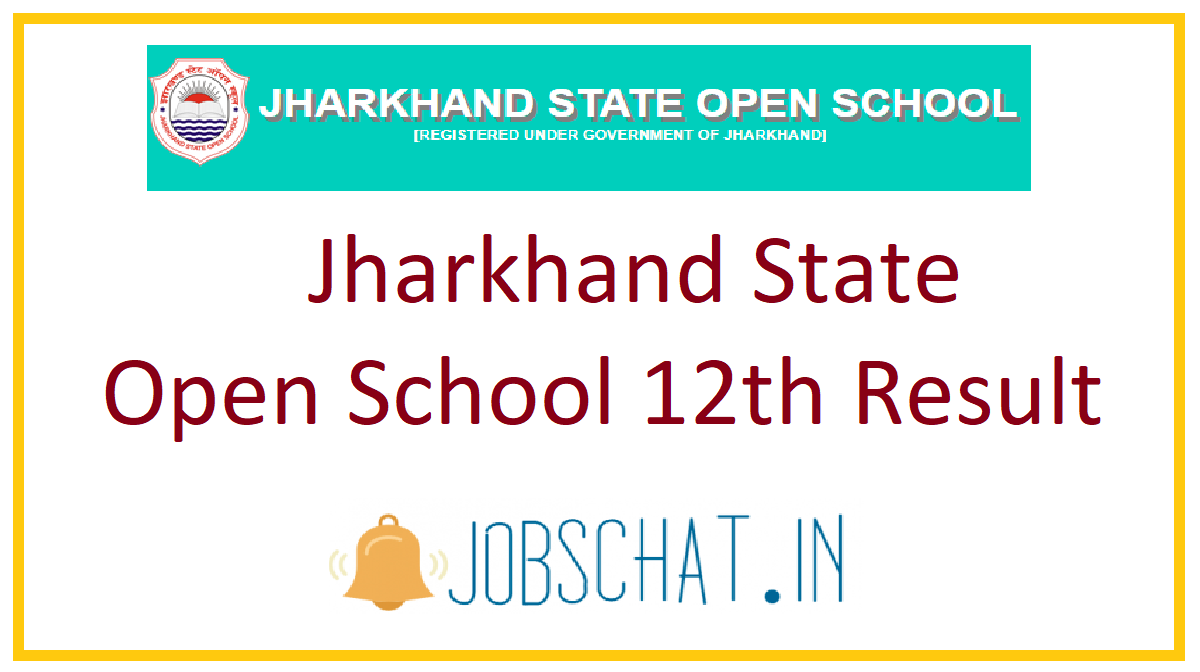 Jharkhand State Open School 12th Result