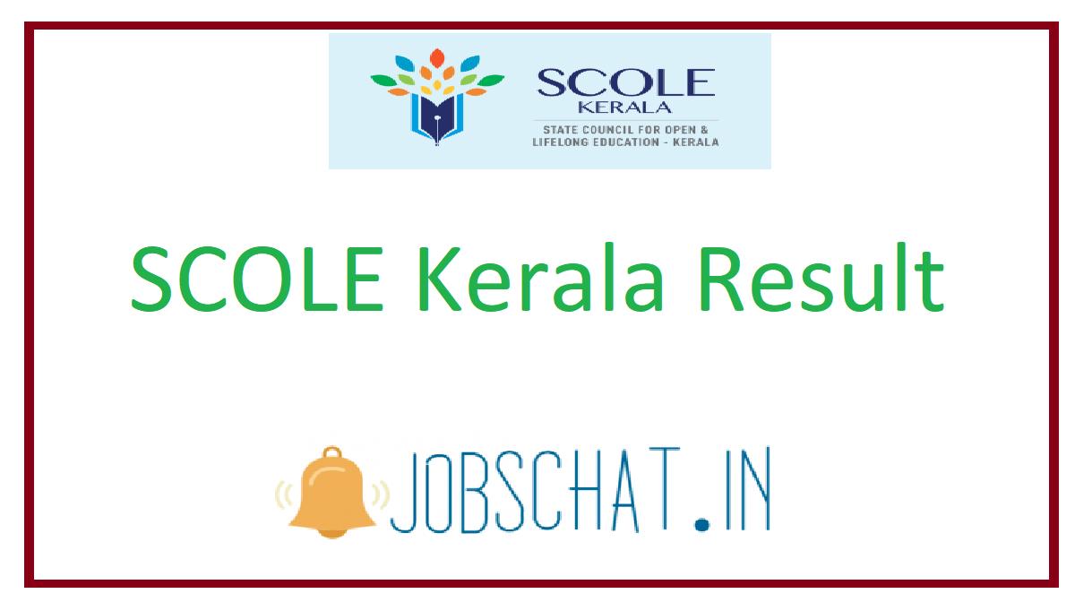 SCOLE Kerala Result