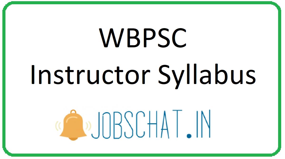 WBPSC Instructor Syllabus