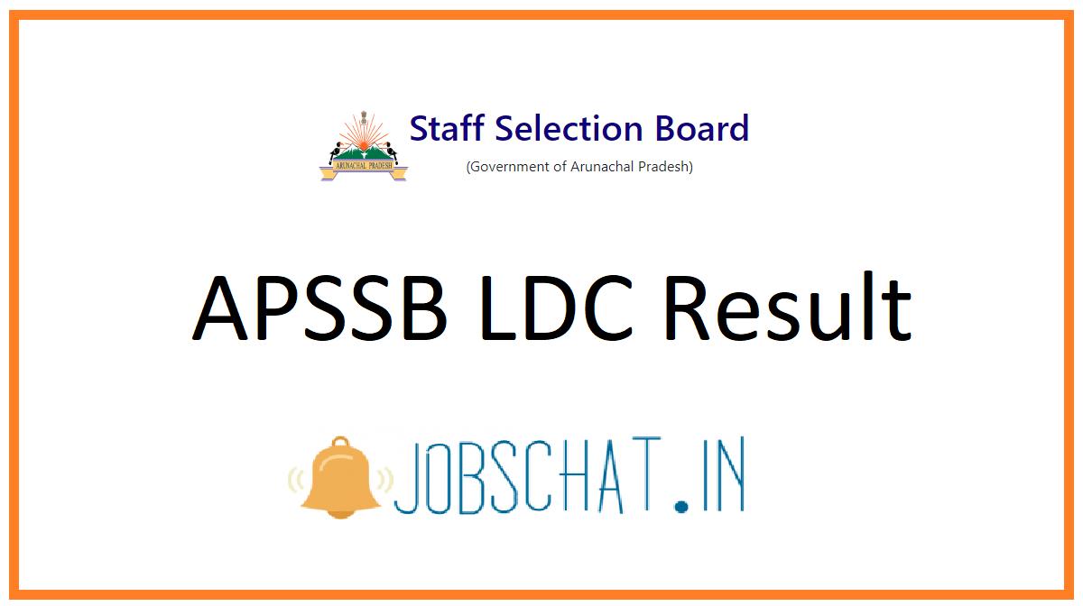 APSSB LDC Result