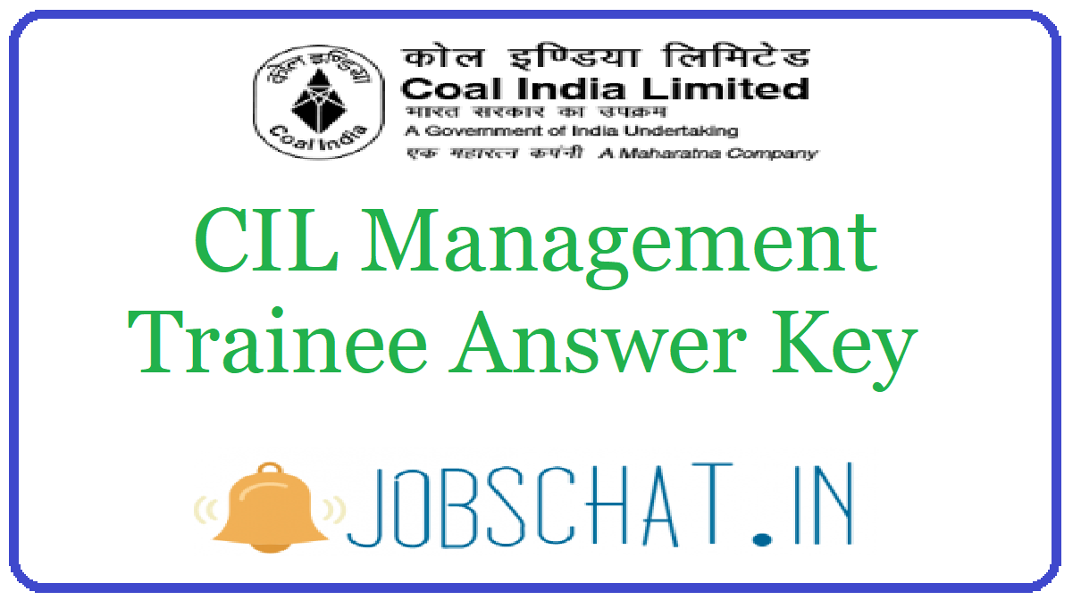 CIL Management Trainee Answer Key