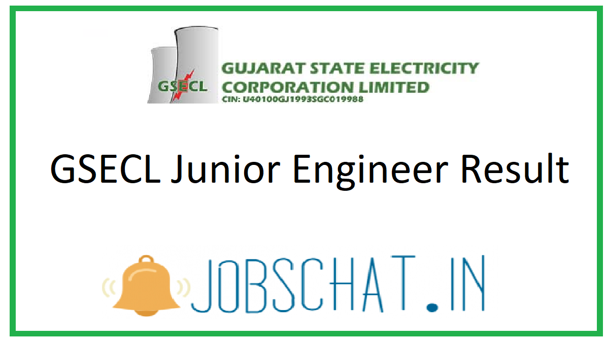 GSECL Junior Engineer Result