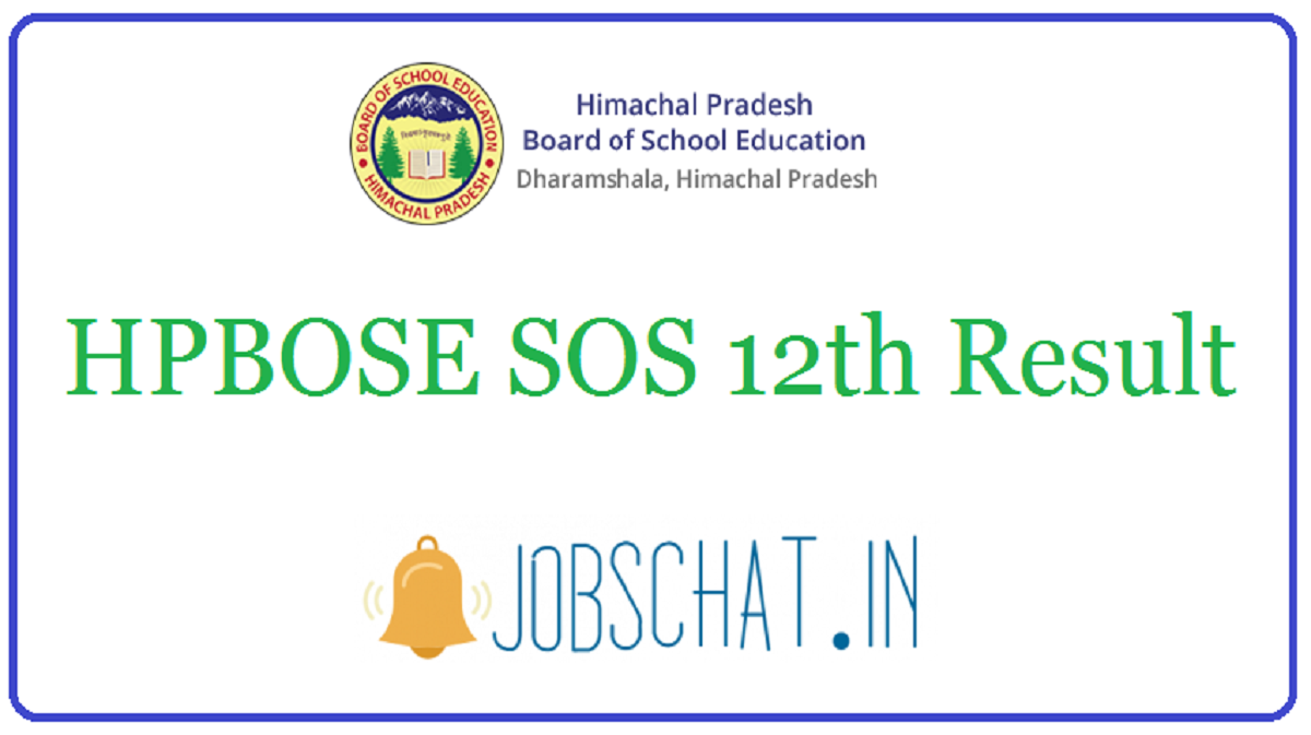 HPBOSE SOS 12th Result