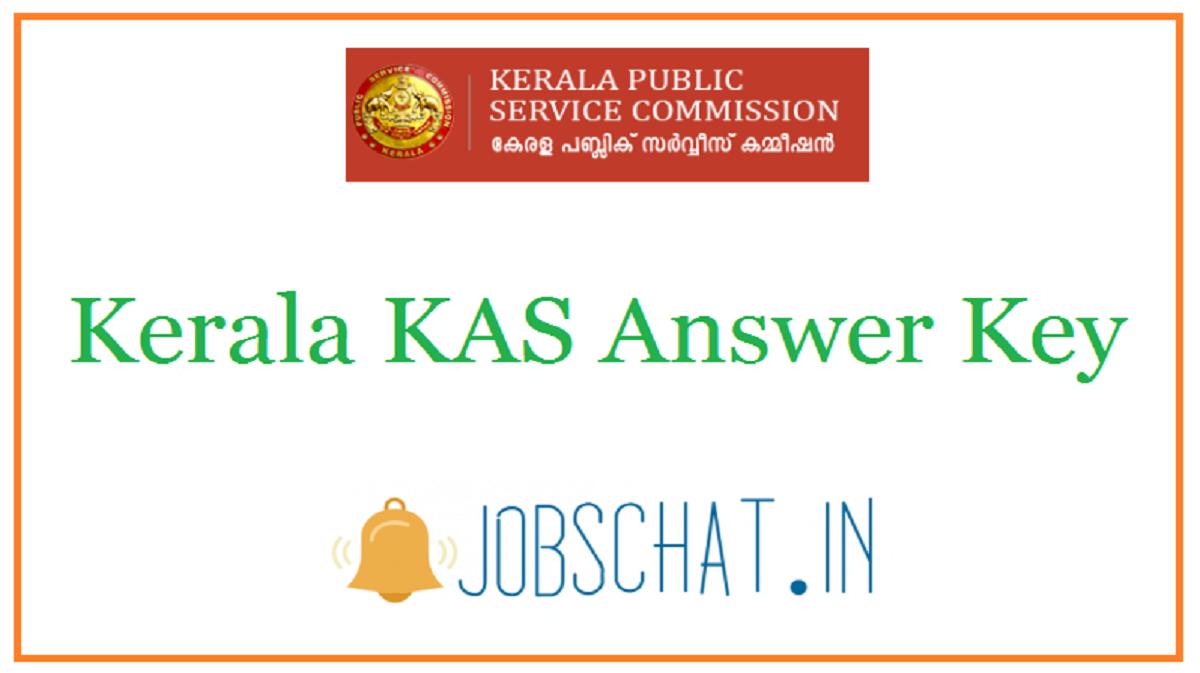 Kerala KAS Answer Key