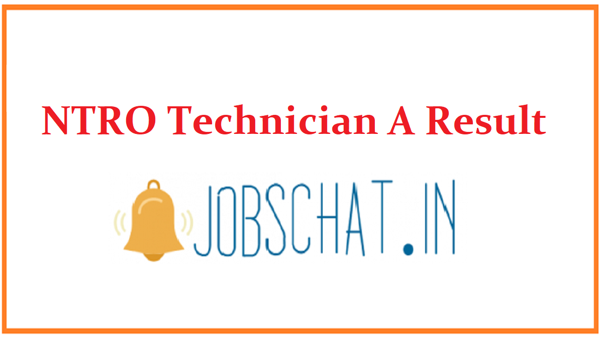 NTRO Technician A Result