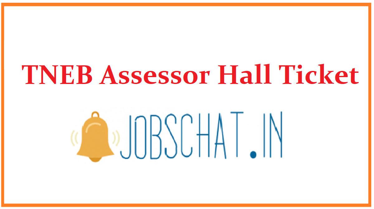 TNEB Assessor Hall Ticket
