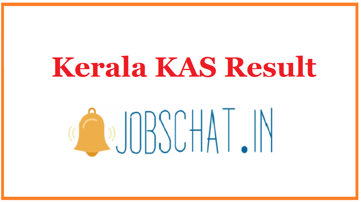 Kerala KAS Result