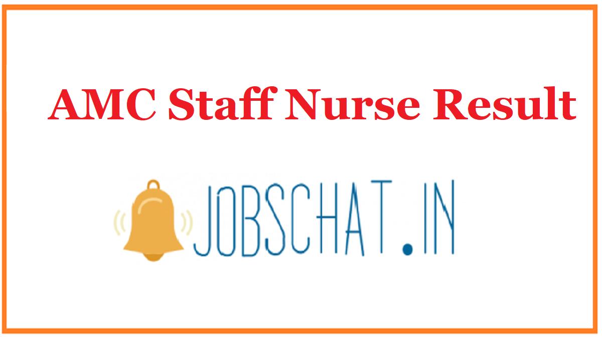 AMC Staff Nurse Result