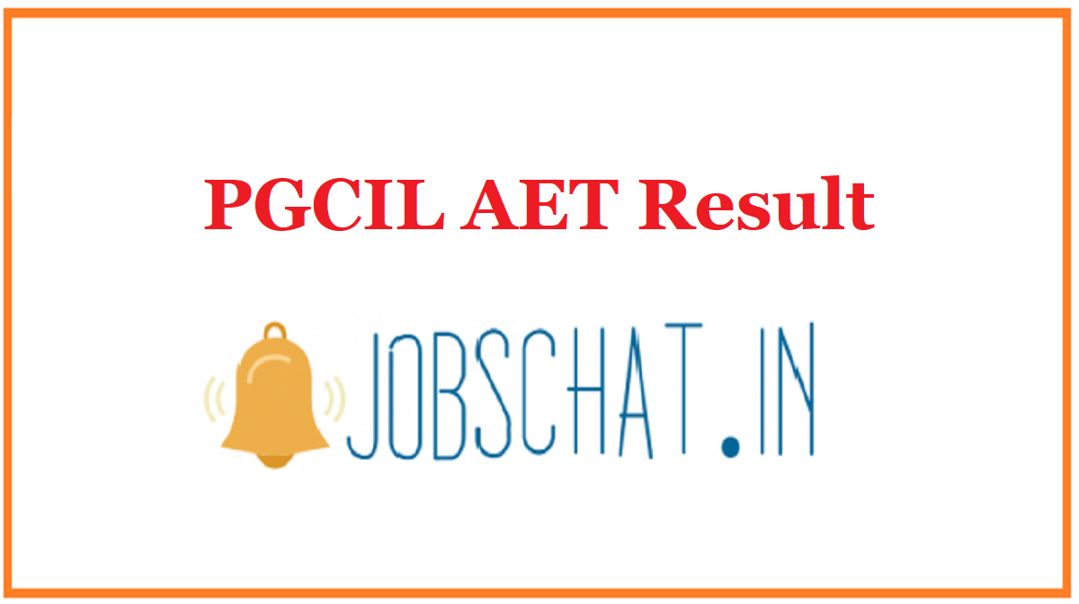 PGCIL AET Result