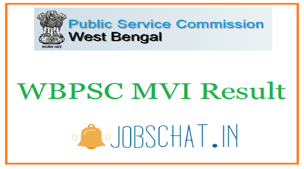 WBPSC MVI Result