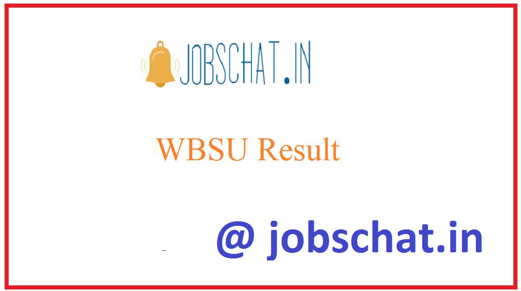 WBSU Result