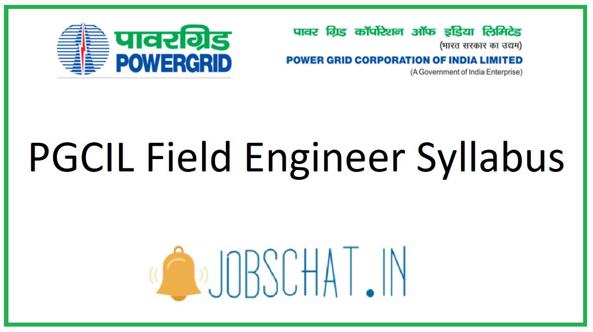 PGCIL Field Engineer Syllabus