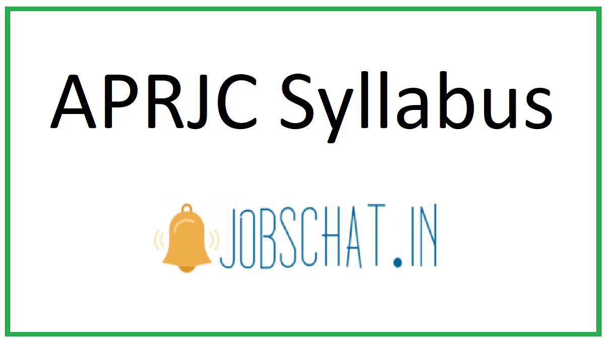 APRJC Syllabus