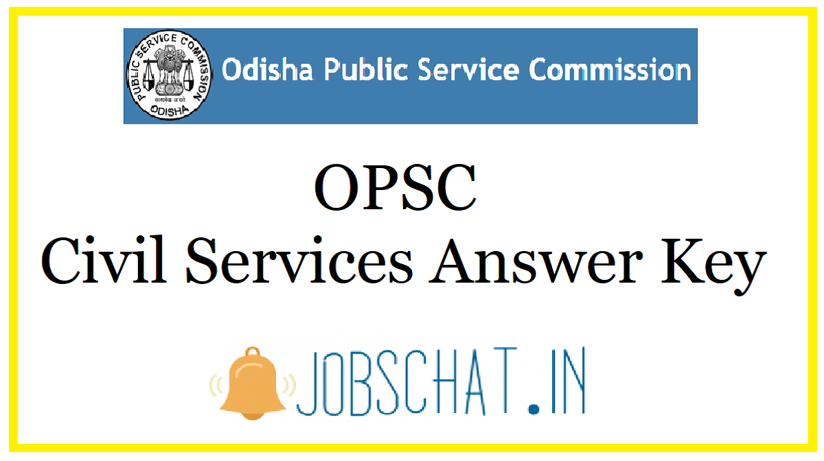 OPSC Civil Services Answer Key