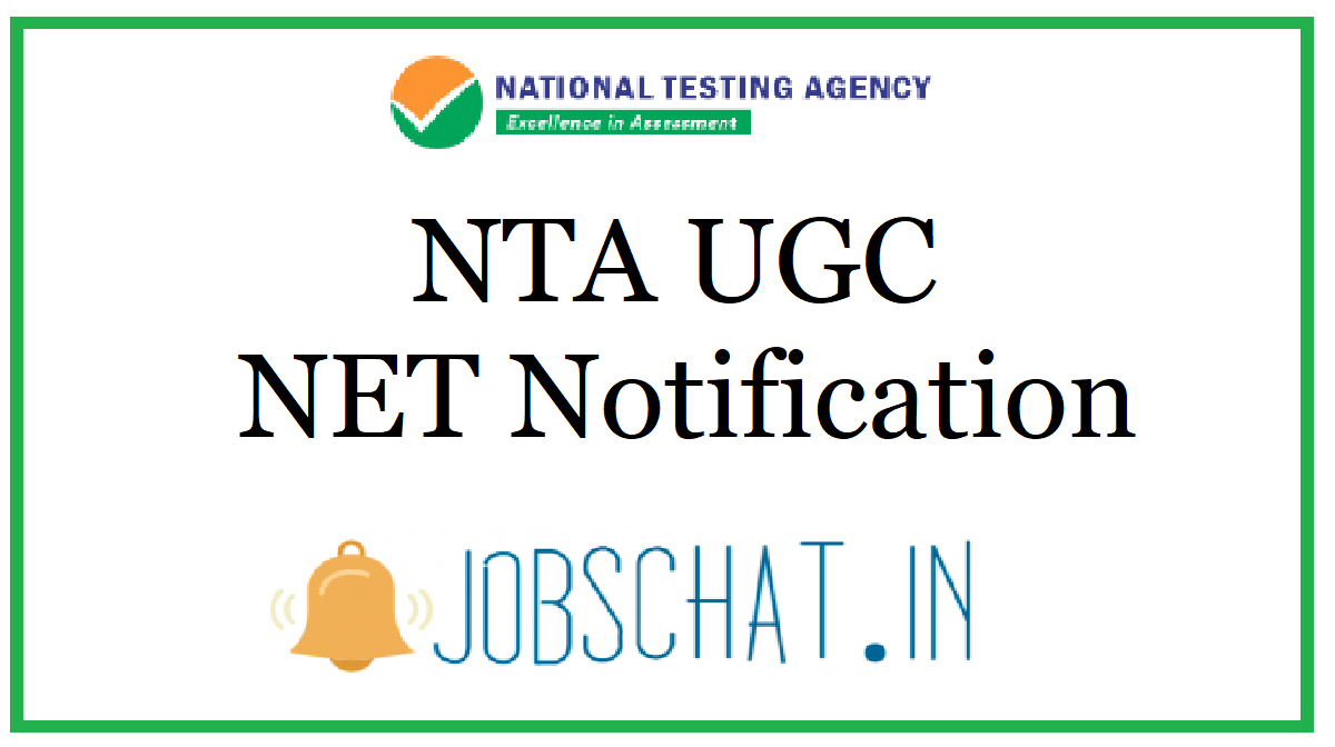 NTA UGC NET Notification