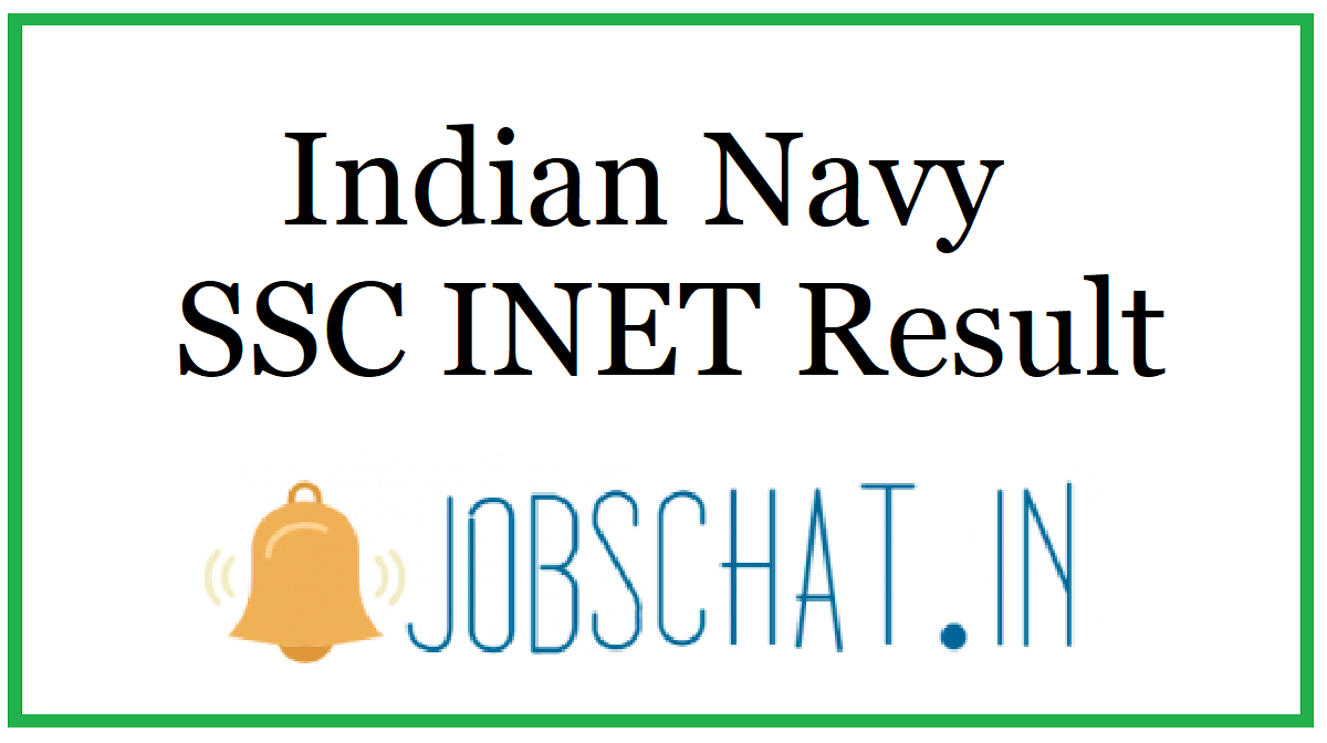 Indian Navy SSC INET Result