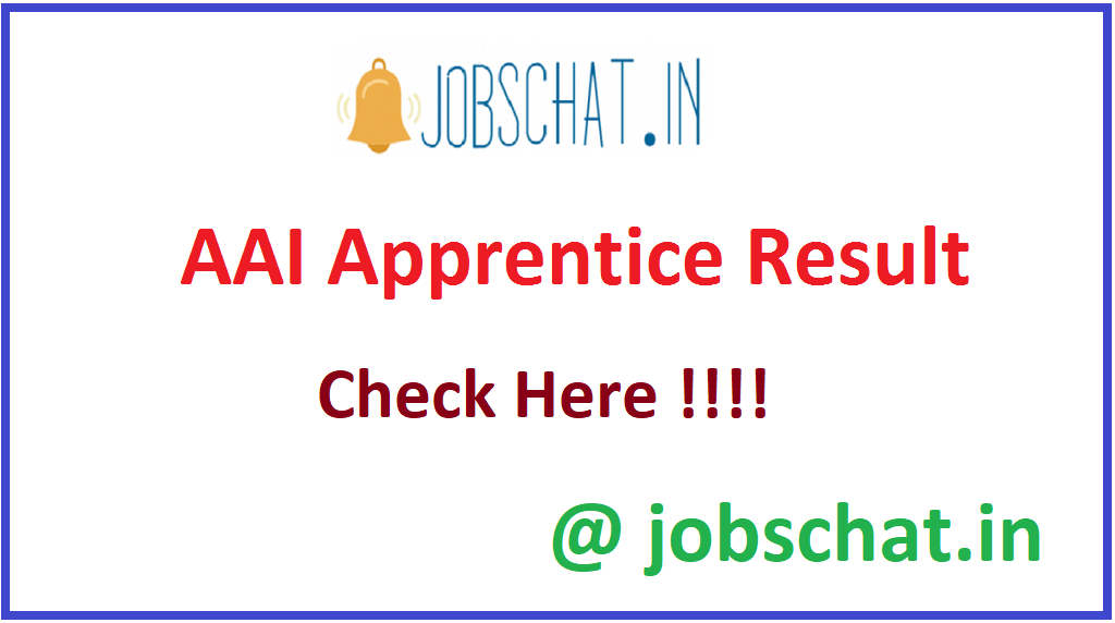 AAI Apprentice Result