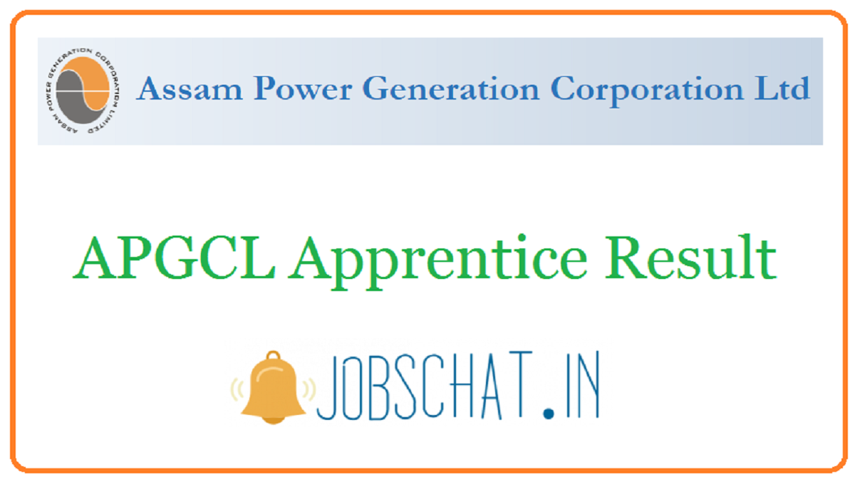 APGCL Apprentice Result