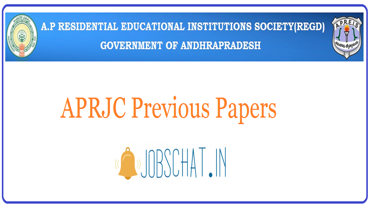 APRJC Previous Papers
