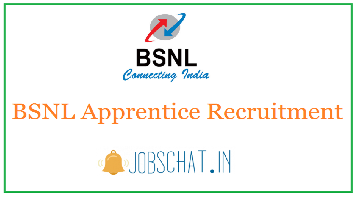 BSNL Apprentice Recruitment