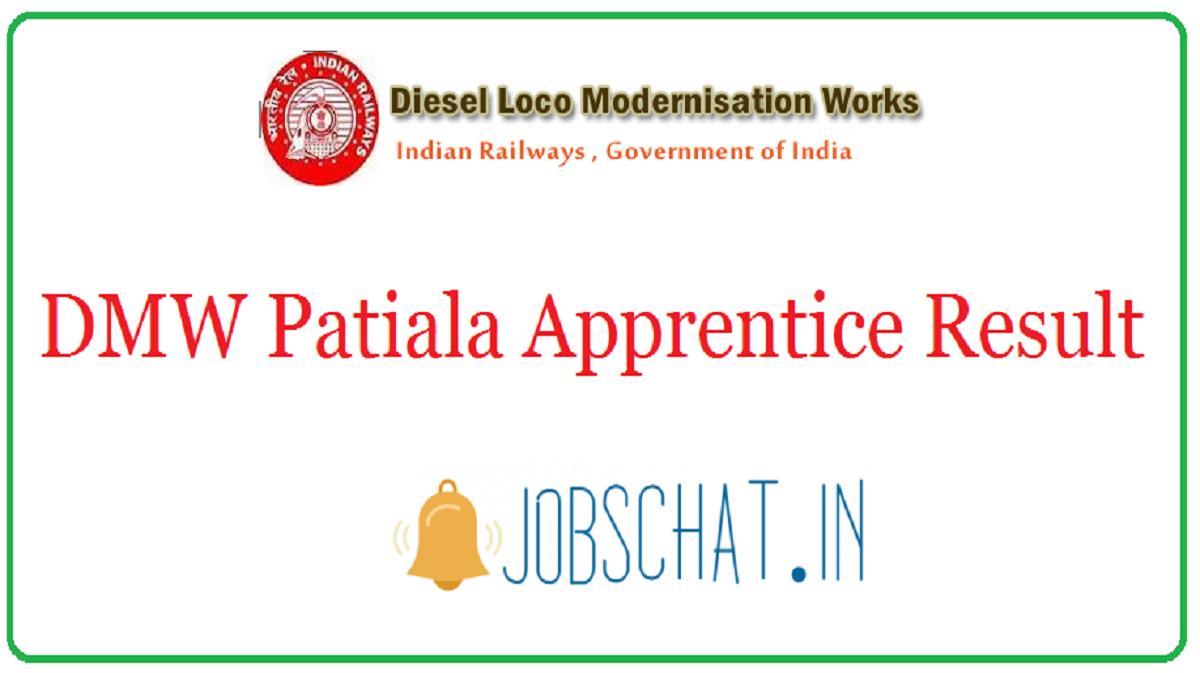 DMW Patiala Apprentice Result