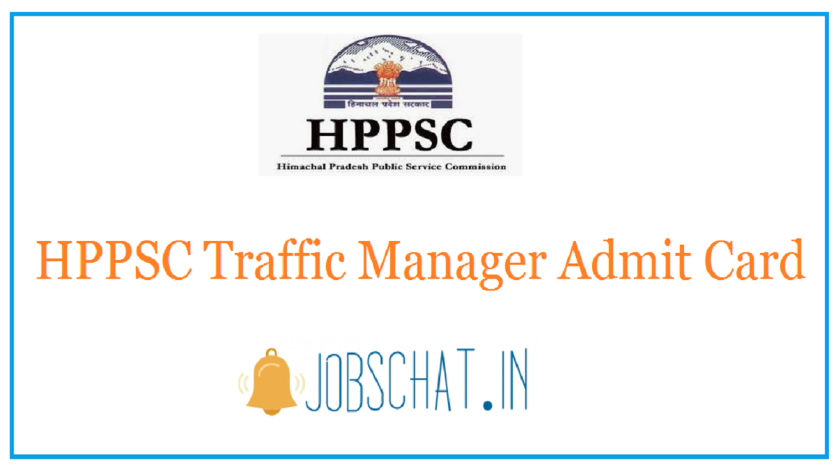 HPPSC Traffic Manager Admit Card