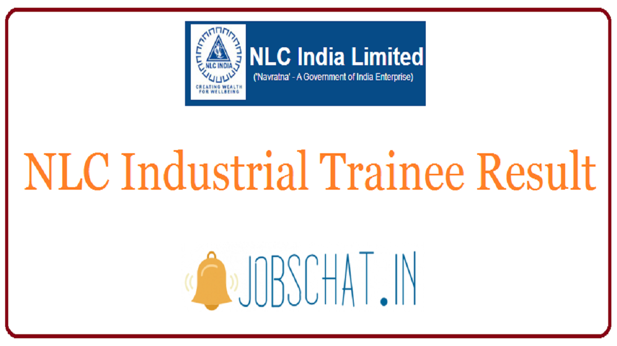 NLC Industrial Trainee Result