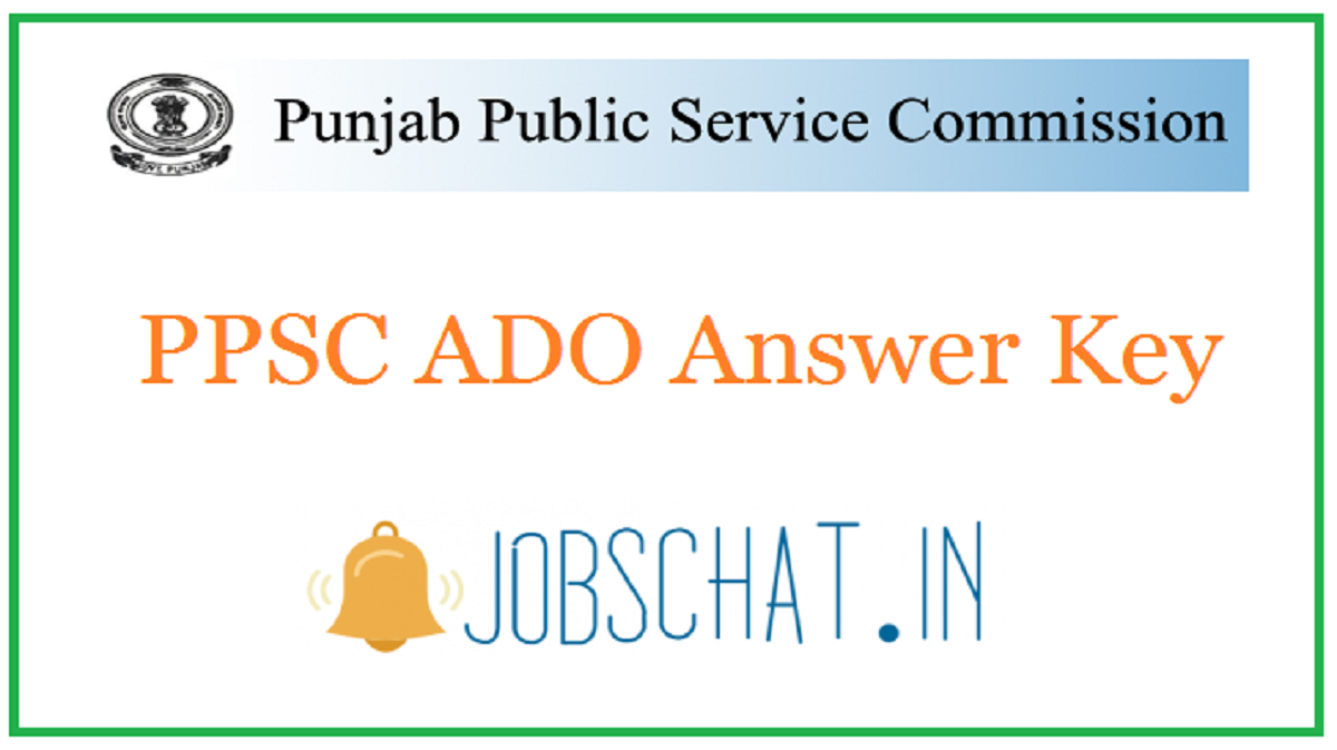 PPSC ADO Answer Key