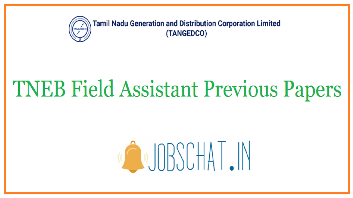 TNEB Field Assistant Previous Papers