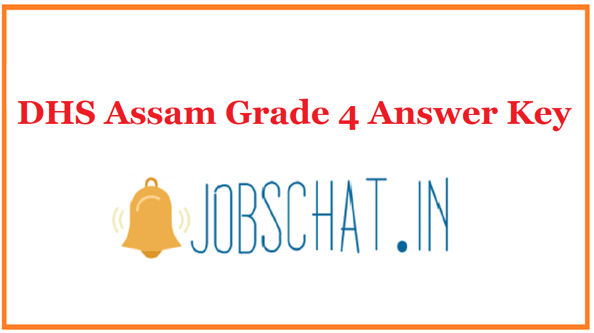 DHS Assam Grade 4 Answer Key