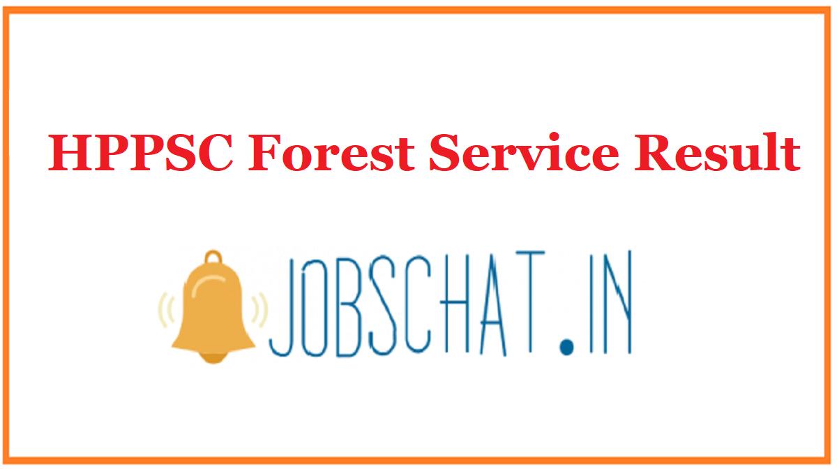 HPPSC Forest Service Result