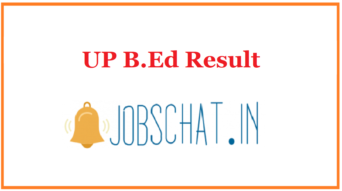 UP B.Ed Result